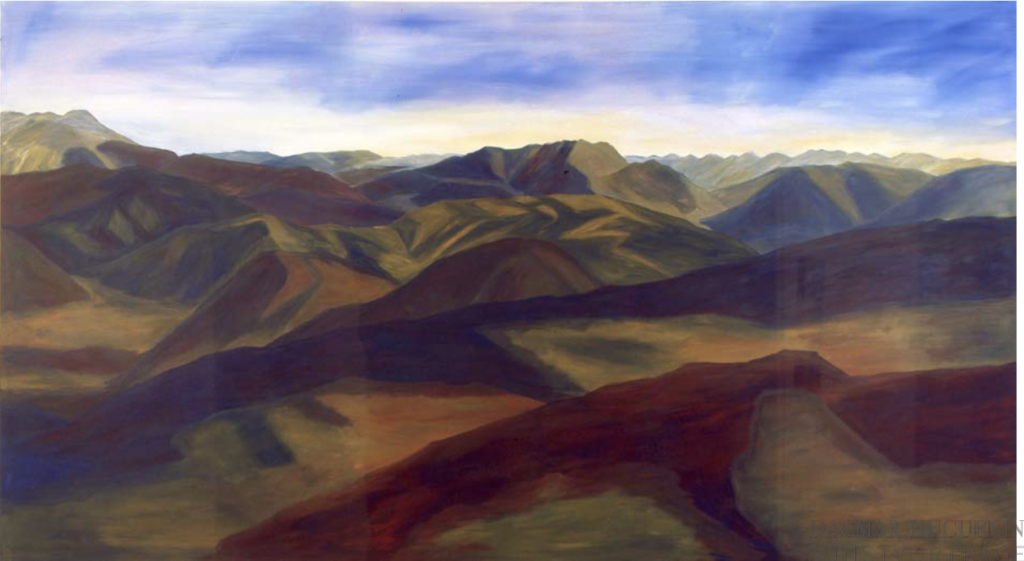 Anne Loch _ AL 184, Acryl auf Nessel, 155x280 cm, © Nachlass Anne Loc